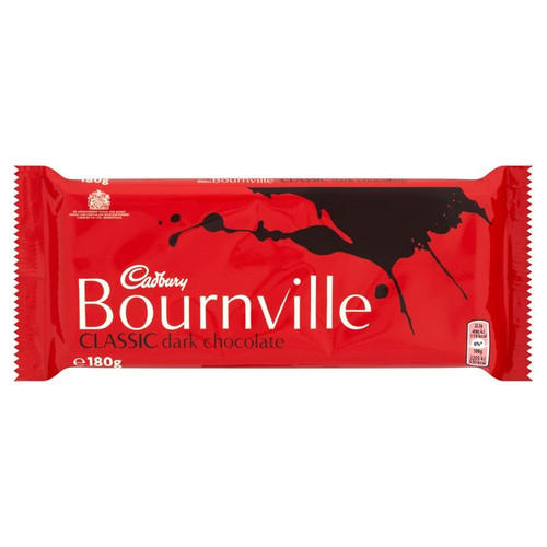 Cadburys Bournville Dark Chocolate Bar 180g