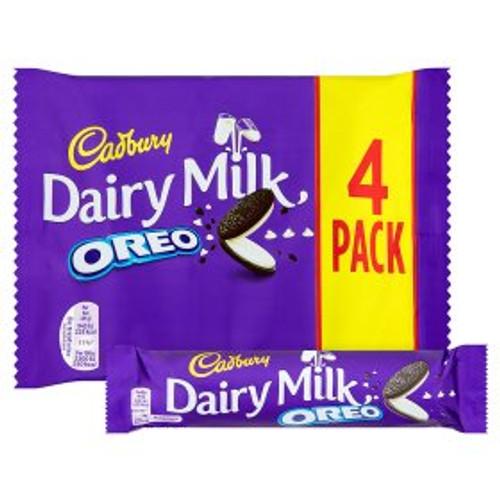 Cadburys Dairy Milk Oreo 4 x 41g Bars