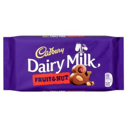 Cadburys Dairy Milk Fruit And Nut Bar 200g