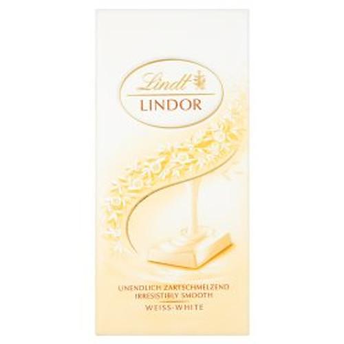 Lindt Lindor White Chocolate Bar 100g