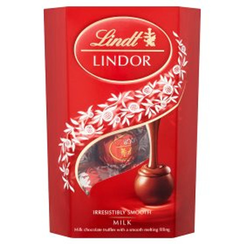 Lindt Lindor Milk Chocolate  Carton 200g