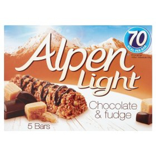 Alpen Light Chocolate & Fudge Cereal Bars