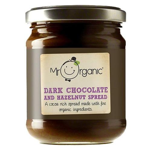 Mr Organic Dark Chocolate & Hazelnut Spread 200g