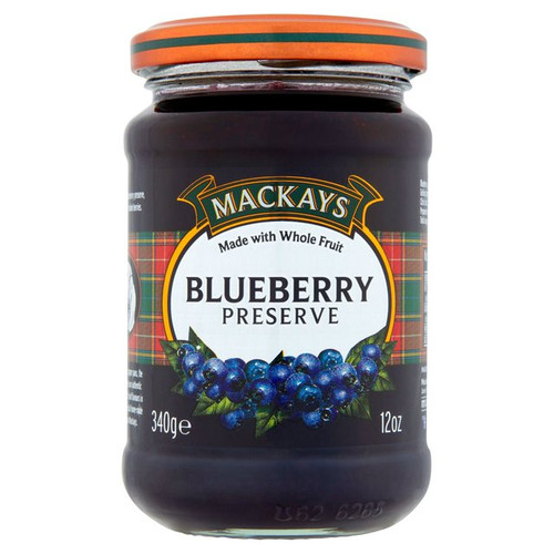 Mackays Blueberry Preserve 340g
