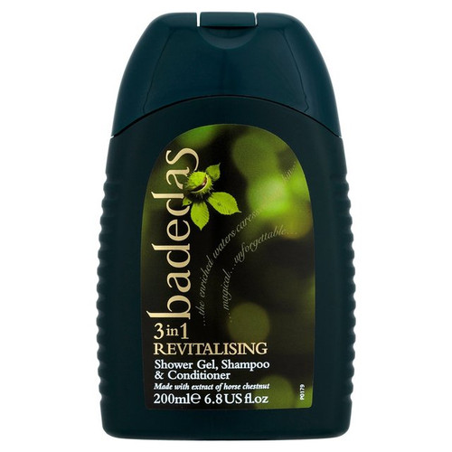 Badedas Revitalising Shower Gel Shampoo and Conditioner 200ml