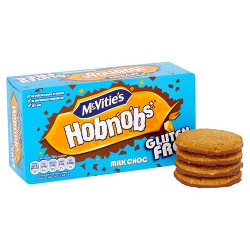 McVities Gluten Free Hobnobs Chocolate 150g