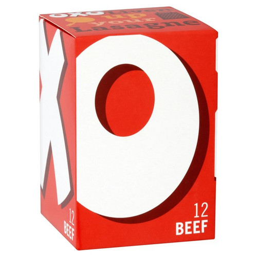 Oxo Beef Stock Cubes 12x 6g