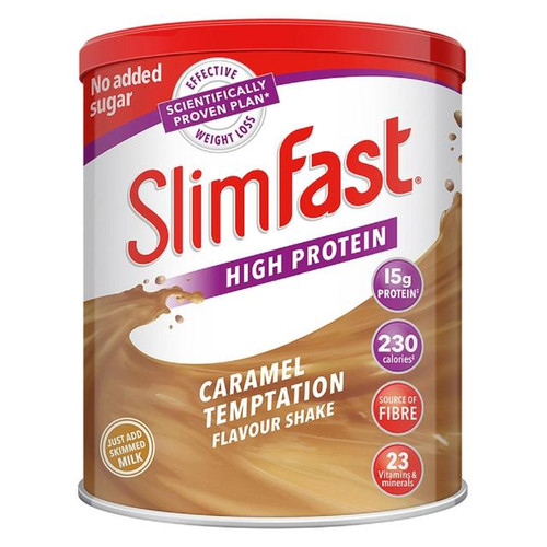 Slimfast Caramel Sensation Shake 438g