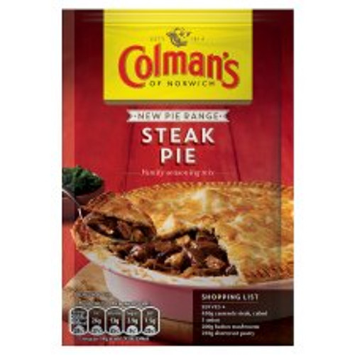 Colmans Steak Pie 40g
