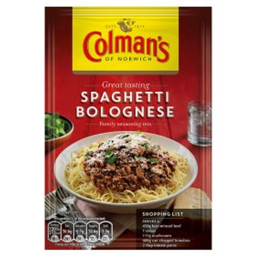 Colmans Spaghetti Bolognese Mix 40g