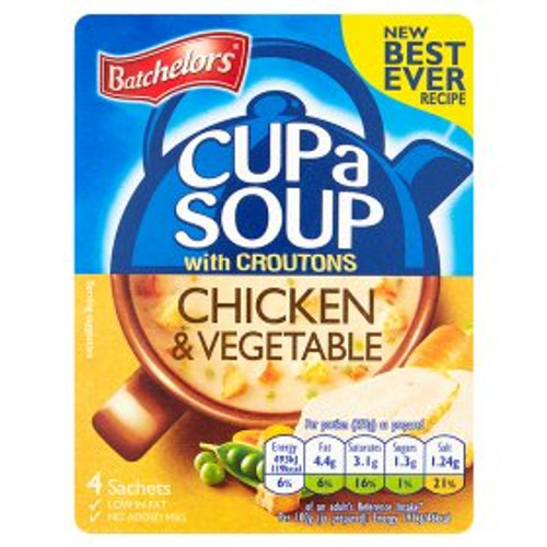 Batchelors Chicken And Vegetable Cup Of Soup
