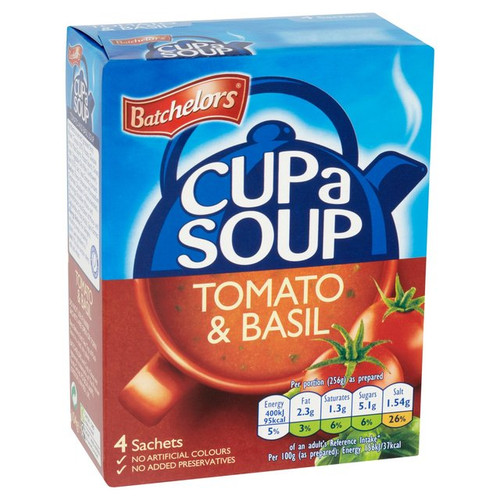 Batchelors Tomato And Basil Cup Of Soup