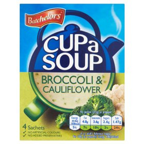 Batchelors Broccoli And Cauliflower Cup Of Soup