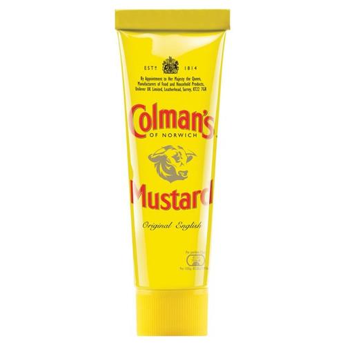 Colmans Mustard Wet Mustard Tube 50g