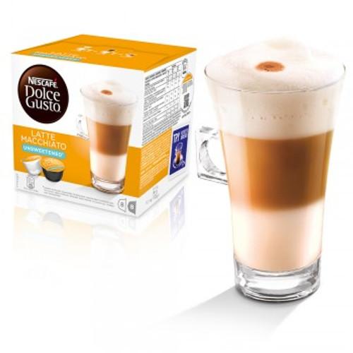 Dolce Gusto Latte Machiatto Unsweetened Coffee Capsules