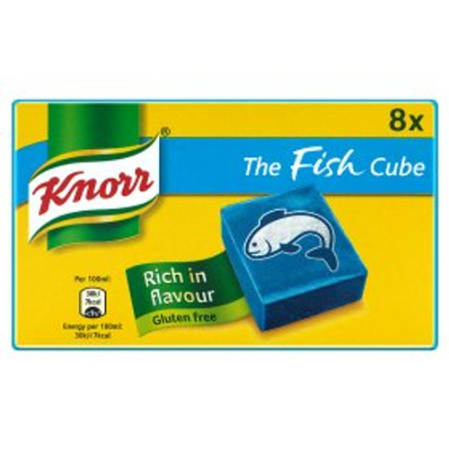 Knorr Fish Cubes x8 80g