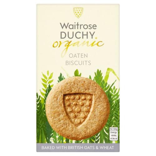 Waitrose Duchy Organic Oat Biscuits 150g