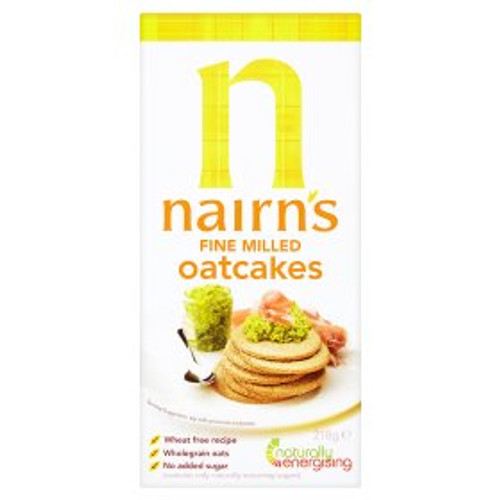 Nairns Fine Milled Oat Cakes 250g