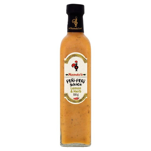 Nandos Peri-Peri Lemon  And Herb Sauce 500g