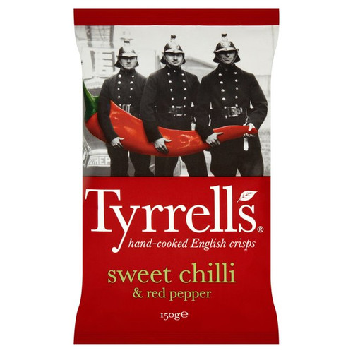Tyrells Sweet Chilli And Red Pepper 150g