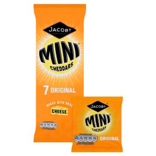 Jacob's Original Mini Cheddars 7x25g
