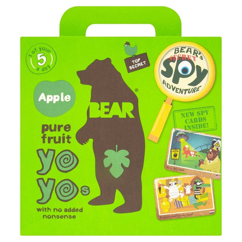 Bear Fruit Yoyos Apple Multipack 5 x 20g