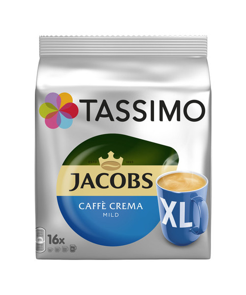 Jacobs Caffe Crema Mild XL 16 Discs