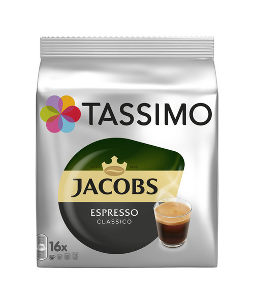 Tassimo Jacobs Espresso Classico 16 Discs