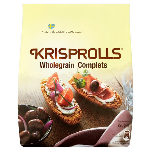 Pagen Krisprolls Wholegrain Complets 225g