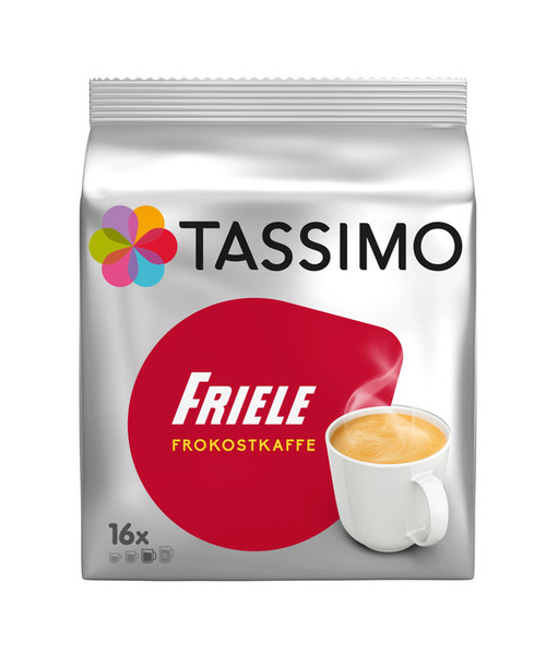 Tassimo Friele Breakfast Coffee 16 Discs 136g
