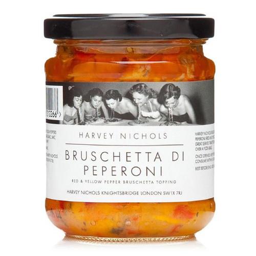 Harvey Nichols Pepper Bruschetta Di Pepperoni 180g
