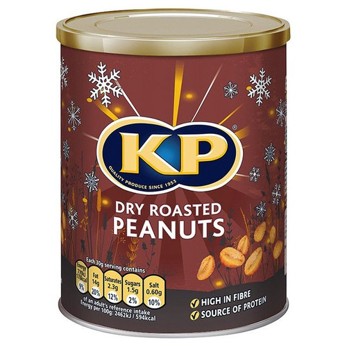 KP Dry Roasted Peanuts 400g