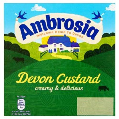 Ambrosia Devon Custard 4x125g