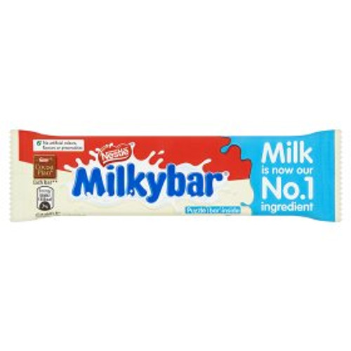 Milkybar Medium White Chocolate Bar 25g