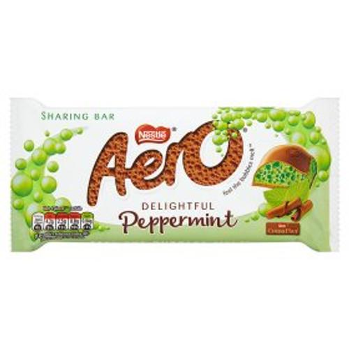 Aero Peppermint Chocolate Sharing Bar 100g