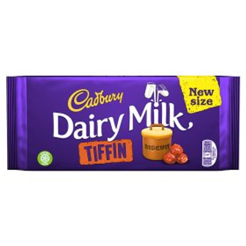Cadbury Dairy Milk Tiffin Bar 200g