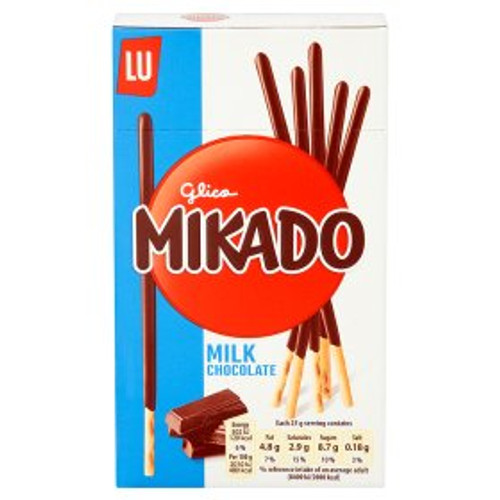 LU Mikado Milk Chocolate Biscuits 75g