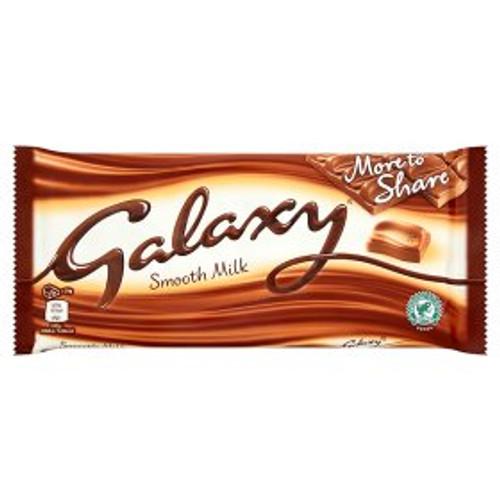 Galaxy Smooth Milk Chocolate Bar 200g