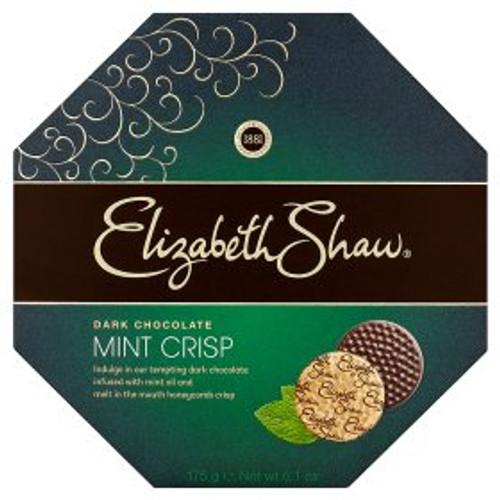Elizabeth Shaw Mint Crisp Dark Chocolate Box 175g
