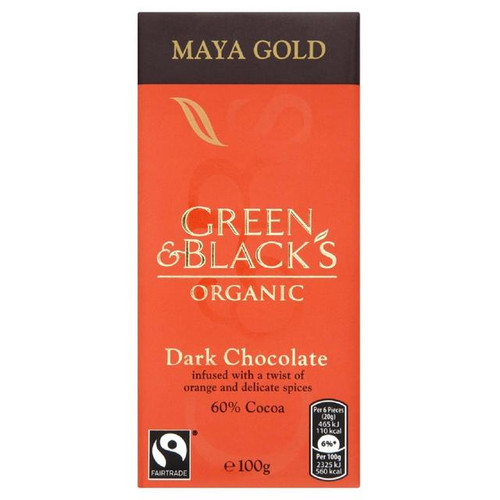 Green & Black's Maya Gold Dark 100g