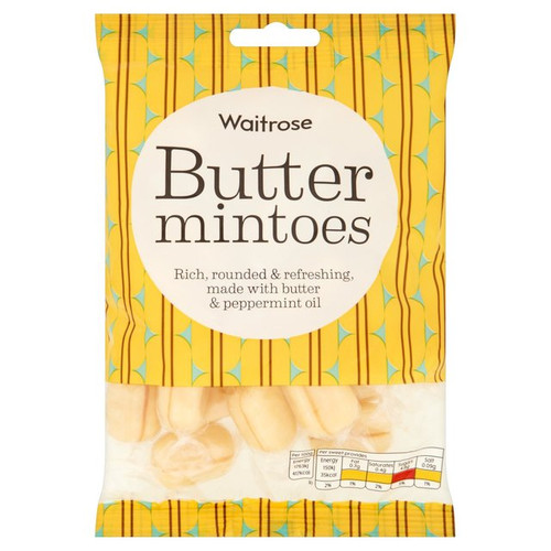 Waitrose Butter Mintoes 225g