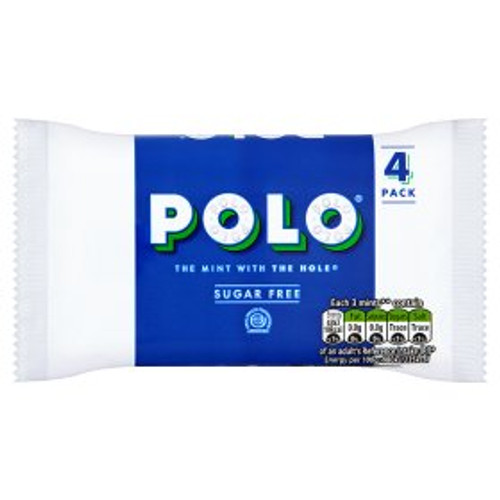 Polo Sugar Free Mints 4 Pack 4x33.4