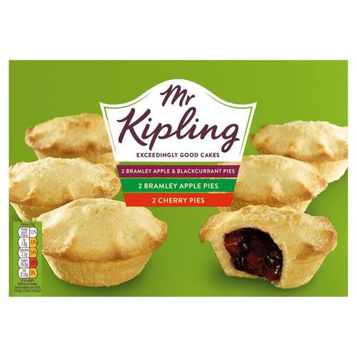 Mr Kipling 6 Fruity Pies Selection