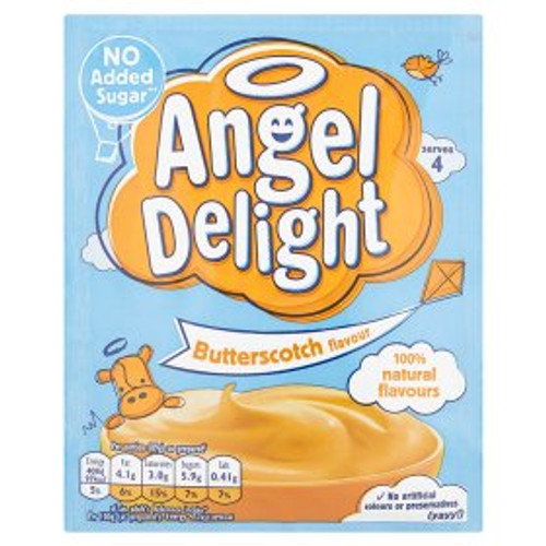 Angel Delight No Added Sugar Butterscotch Flavour 47g