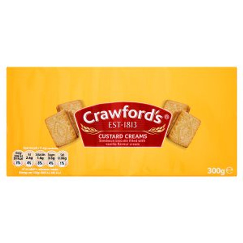 Crawford's Custard Creams 300g