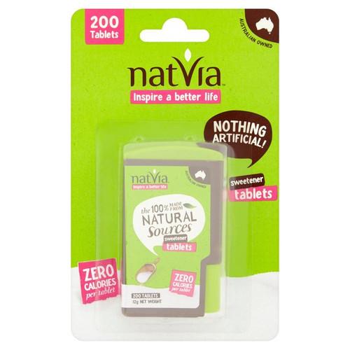 Natvia Sugar Free Sweetener Tablets 200 per pack
