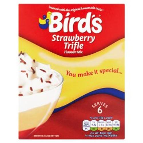 Birds Strawberry Trifle Flavour Mix 144g