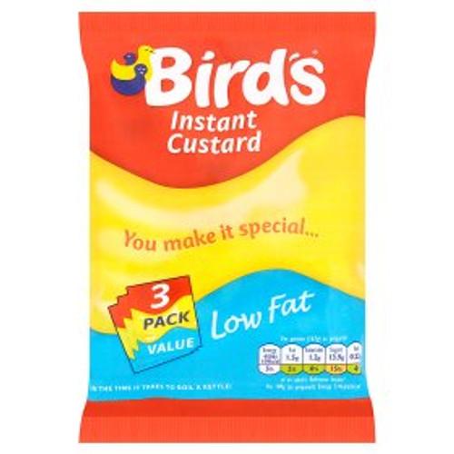 Birds Instant Custard Low Fat 3x75g