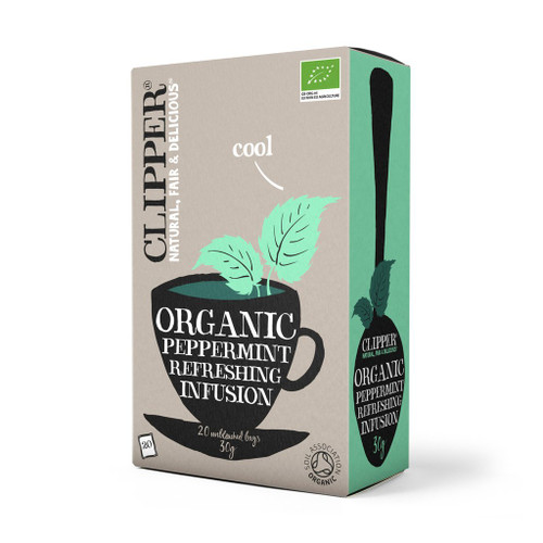 Clipper Organic Peppermint Infusion 20 bags 30g