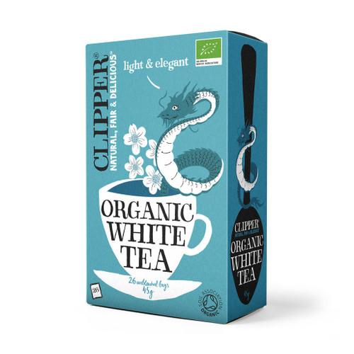 Clipper Organic White Tea 26 bags 45g